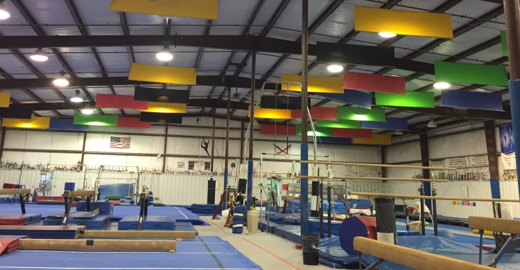 Our main gymnastics facility in Mobile, Alabama
