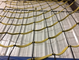Our cargo net at our gymnastics facility